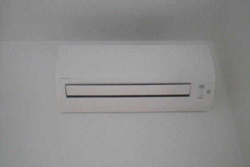 Impianto di climatizzazione per abitazioni.