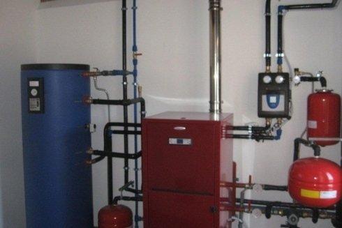 Impianto per riscaldamento di condominio.