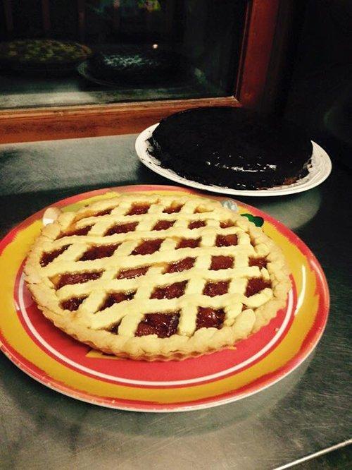 Deliziosa crostata e torta al cioccolato fatte in casa