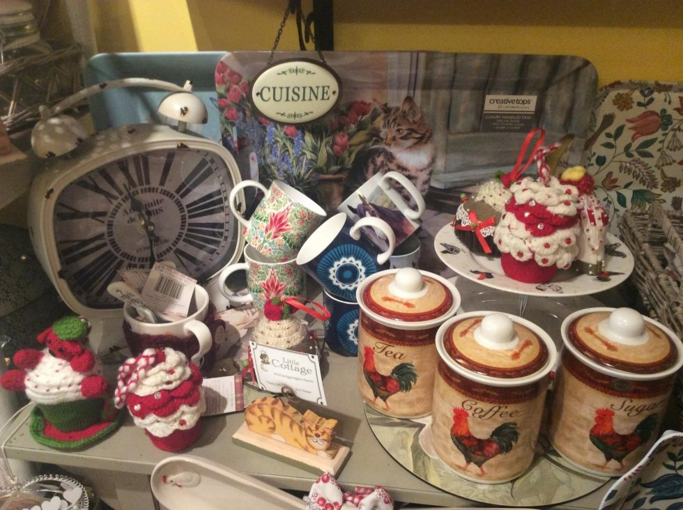delle tazze decorative per il natale