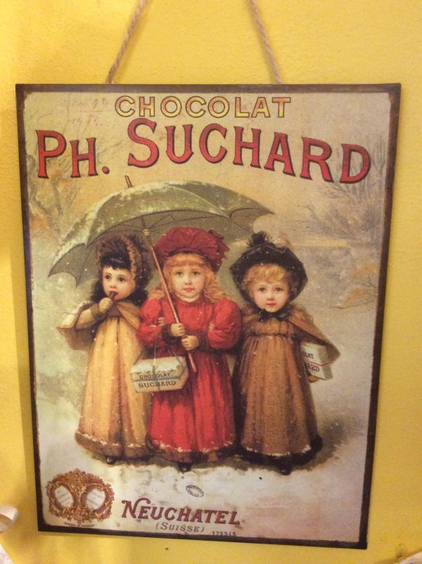 cartellone chocolat