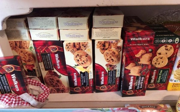 Prodotti alimentari italiani- WALKERS