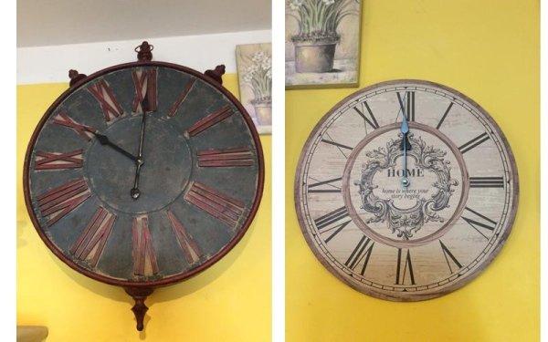 due orologi personalizzati
