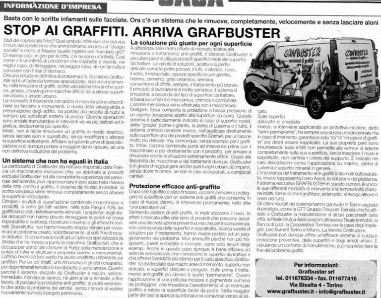articolo su grafbuster