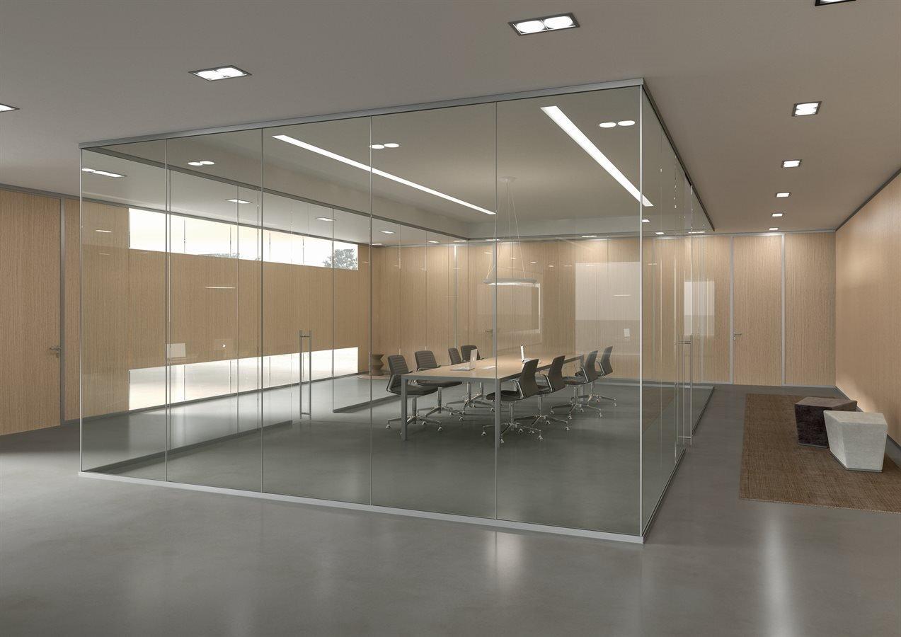 Pareti divisorie per open space verona b zaggia for Centro ufficio