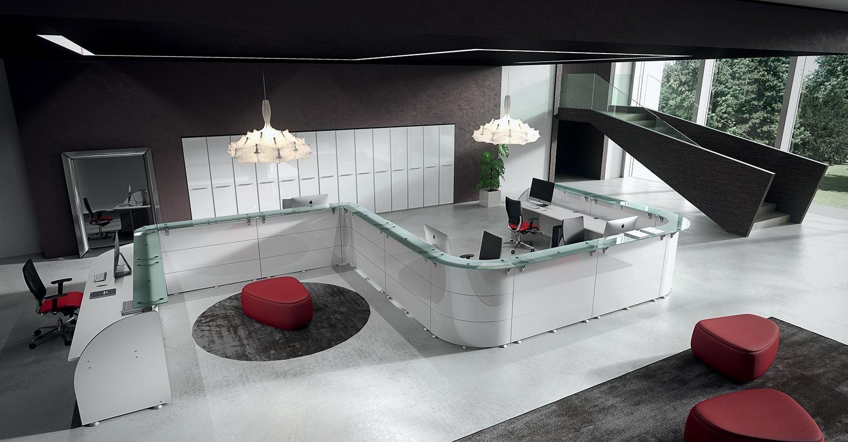 Arredi per reception verona b zaggia for Banconi reception per ufficio