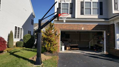 Megaslam Basketball Goal Installation Service in Washington DC