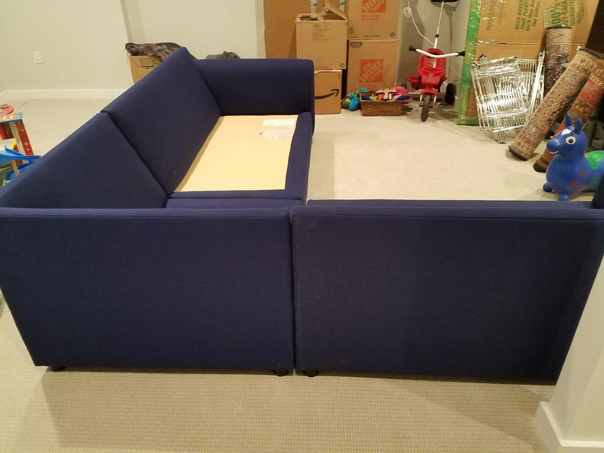 Fabric Sofa Disembly Reembly