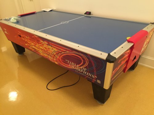Air Hockey Table Assembly and Installation Service in Annapolis MD