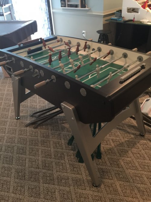Foosball Table Assembly and Installation Service in Rockville MD
