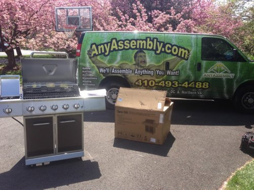 Grill Assembly and Installation Service in Silver Spring MD