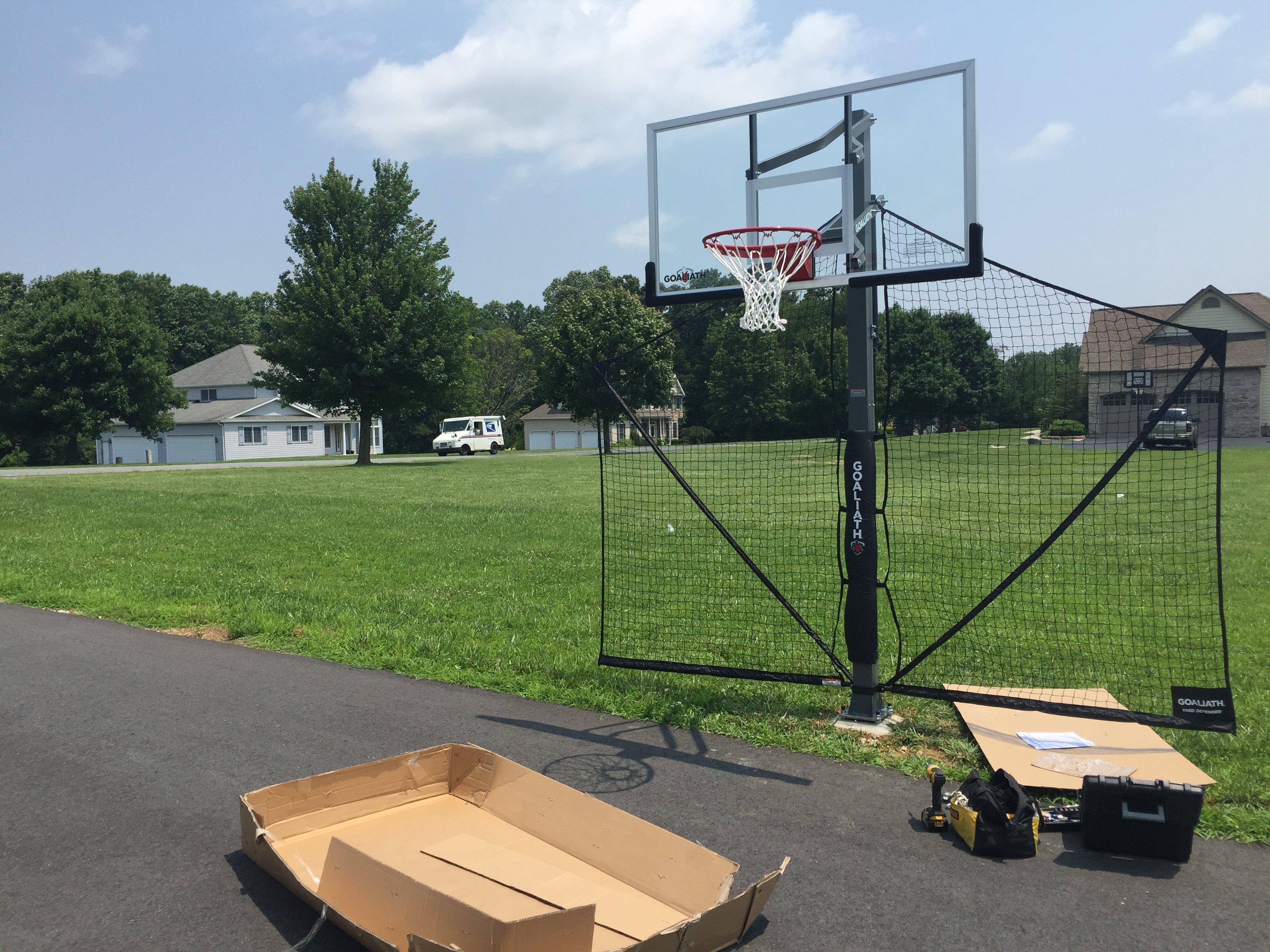 72 In Ground Basketball Installation Professionals