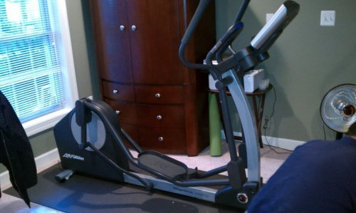 Life Fitness Elliptical Machine Assembly and Installation in Frederick Maryland
