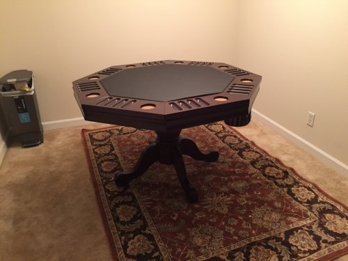 Poker Table Assembly and Installation Service in Silver Spring MD