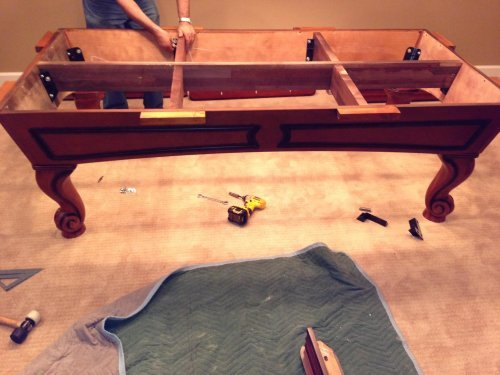 Pool Table Disassembly Service in College Park MD