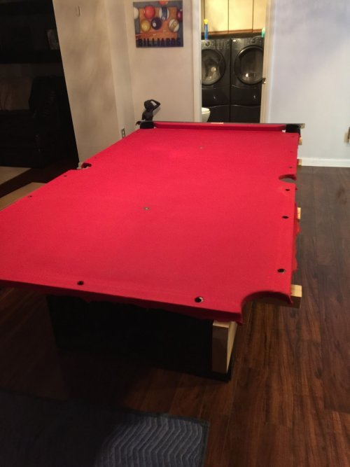 Pool Table Disassembly, Moving and Reassembly Service in Baltimore MD