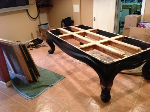 Pool Table Disassembly, Moving and Reassembly Service in Washington DC