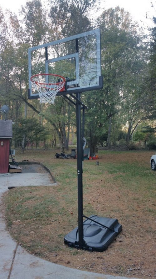 Portable Basketball Hoop Assembly and Installation Service in Rockville MD
