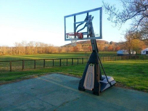 Portable Basketball Hoop Spalding Repair and Maintenance Service in Laurel MD