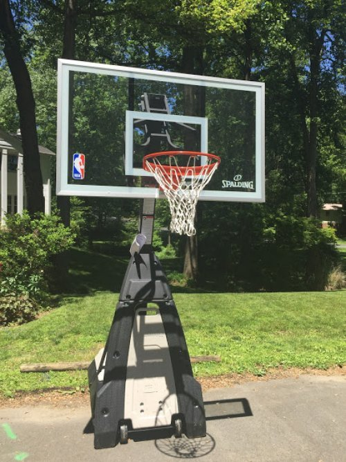Portable Basketball System Assembly and Installation Service in Bel Air MD