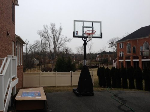 Portable Basketball System Assembly and Installation in Disctrict Heights MD