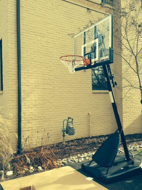 Portable Basketball System Disassembly, Hauling, Disposal Service in College Park MD