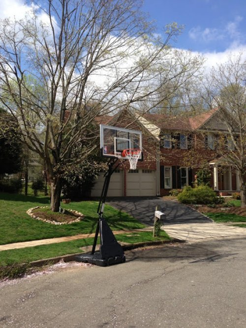 Portable Basketball System Moving and Relocation Service in Frederick MD