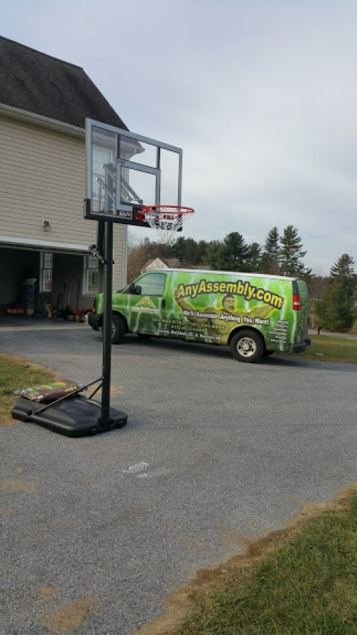 Portable Basketball System Services in DC MD VA