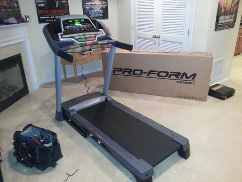 Pro Form Treadmill Assembly and Installation Service in Hanover Maryland