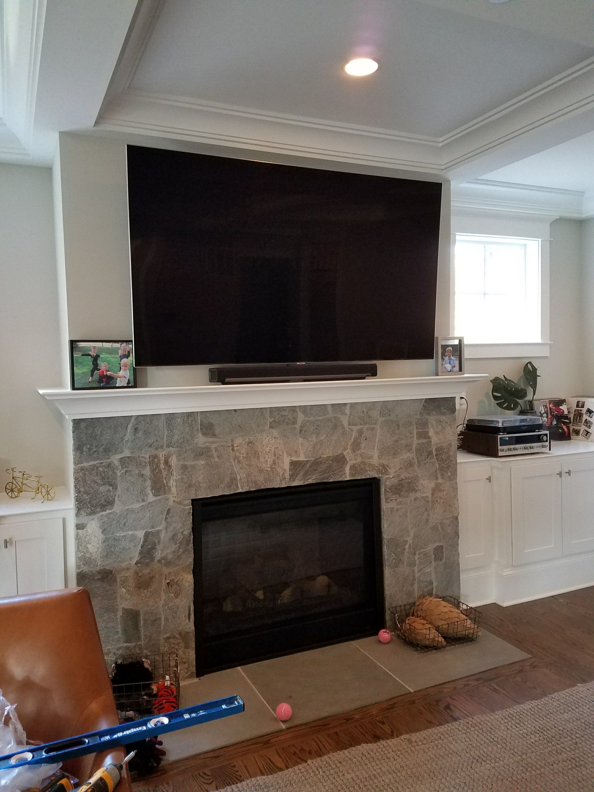 Tv Mounting Service Over Fireplace