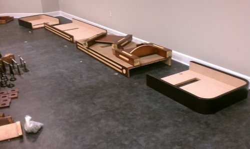 Shuffleboard Table  Disassembly, Moving and Reassembly Service in Alexandria VA