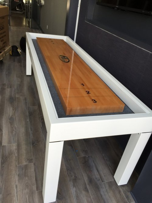 Shuffleboard Table Assembly and Installation Service in Gaithersburg MD