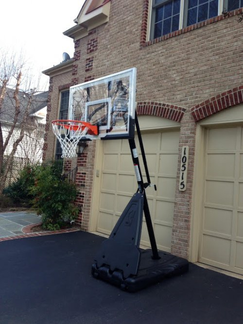 Spalding Portable Basketball System Assembly and Installation Service in Gaithersburg MD