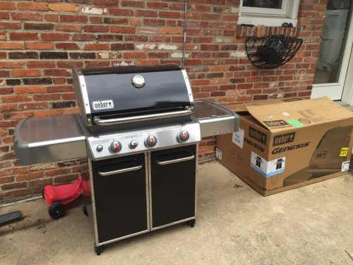 Weber Genesis Grill Assembly and Installation Service in Washington DC