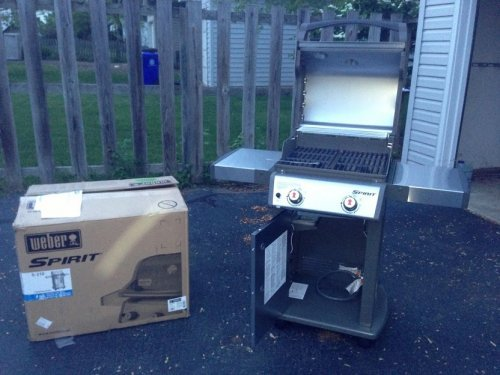 Weber Spirit Grill Assembly and Installation in Rockville MD