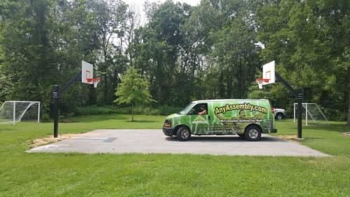 In-Ground Basketball Hoop Installation Service in DC MD VA