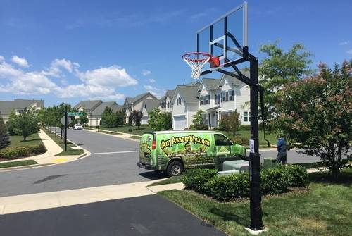 Basketball Hoop Assembly Service in DC MD VA
