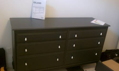 IKEA EDLAND Dresser Assembly Service in Dupont Circle DC