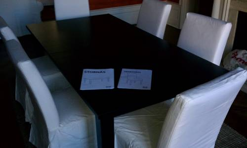 IKEA dining table assembly service in Bethesda MD