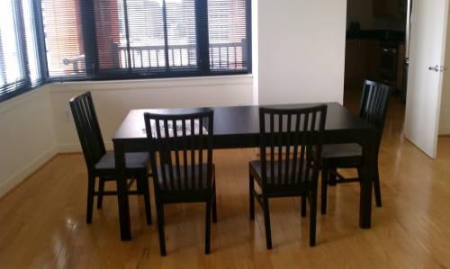 IKEA Bjursta Dining Table Set assembly service in Washington DC