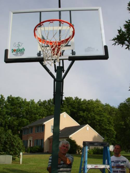 Pro Dunk Basketball Goal Installation Service in Vienna VA