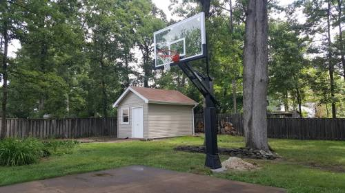 Mega Slam 72 Basketball Hoop Professional  Installation Services in Washington DC