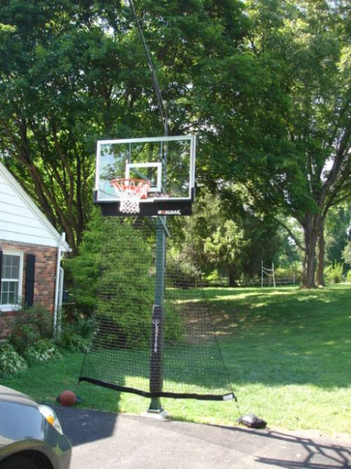 """Goaliath 54"""" In-Ground Basketball Hoop Installed in Annapolis MD by Any Assembly Installers"""