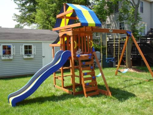 Gorilla Swing Set Assembly service in Columbia MD