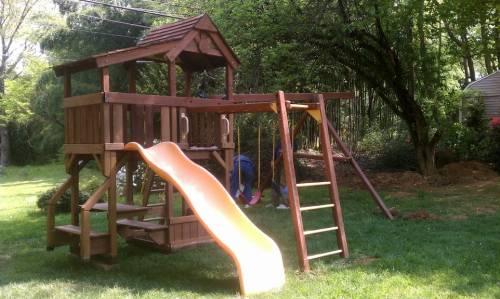 Gorilla Swing Set Installation service in Manassas VA