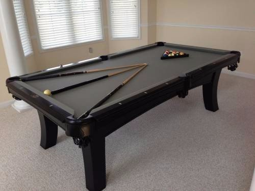 Pool table assembly services by Any Assembly