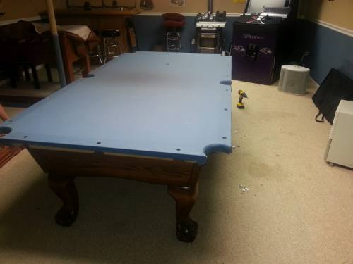Pool Table Disassembly Professionals Disassembly - Move a pool table without taking it apart