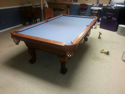 Pool Table Disassembly Professionals Disassembly - Can you move a pool table without taking it apart