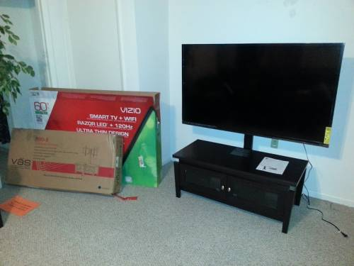 Whalen TV Stand Assembly Service in Annandale VA