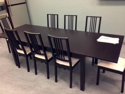 IKEA Dining Table Set assembled in Burke VA